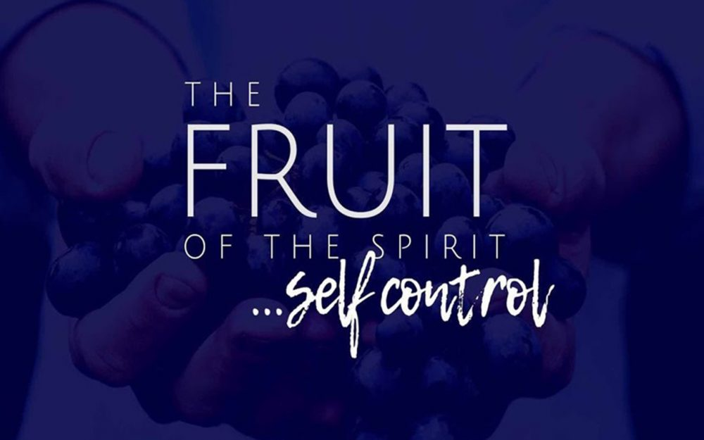Fruit of the Spirit: Self-Control Image