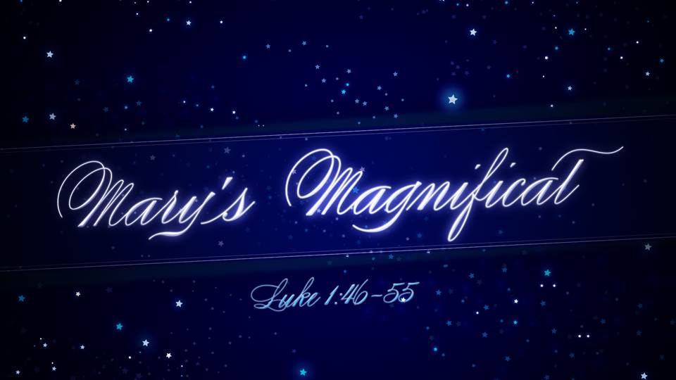 Mary's Magnificat Image