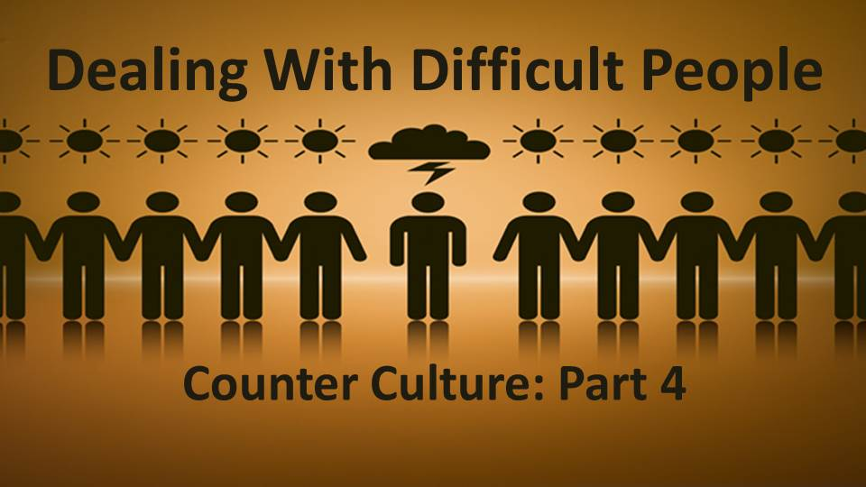Culture Shock Part 4: Dealing with Difficult People Image