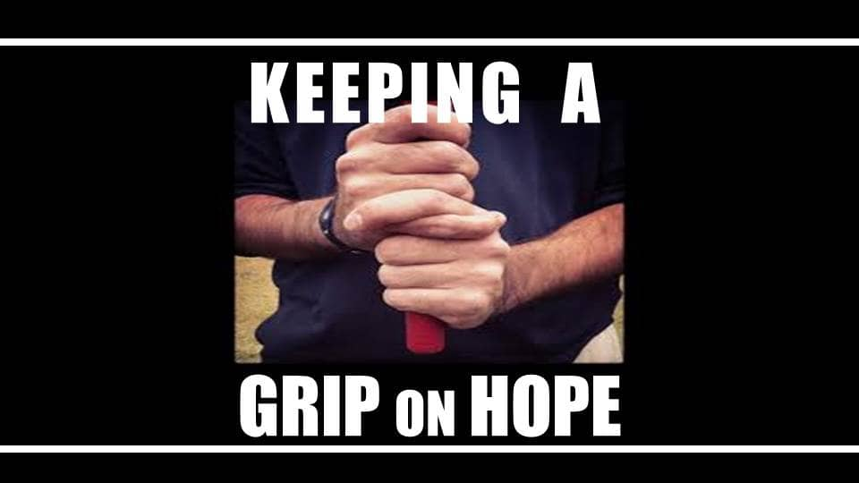 Keeping A Grip On Hope Image